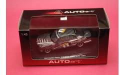 mercedes benz 500sec (W126) AMG #6, масштабная модель, Mercedes-Benz, Autoart, 1:43, 1/43
