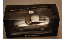 Aston Martin Vanquisn, масштабная модель, Minichamps, 1:43, 1/43