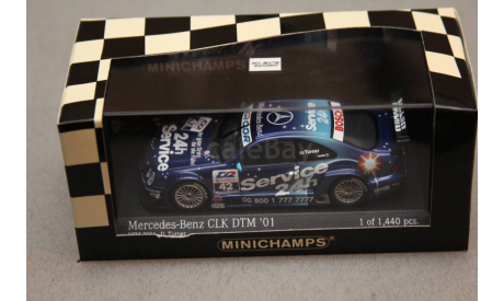 ​mercedes benz CLK #42 Team Rosberg, масштабная модель, Mercedes-Benz, Minichamps, 1:43, 1/43