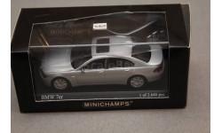 BMW 7, масштабная модель, Minichamps, 1:43, 1/43