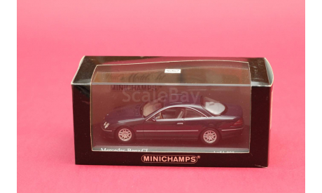 ​Mercedes Benz CL, масштабная модель, Mercedes-Benz, Minichamps, 1:43, 1/43