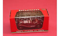ALFA ROMEO  1750 GS SPIDER #86, масштабная модель, Brumm, 1:43, 1/43