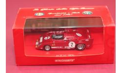 Alfa Romeo 33 TT12, масштабная модель, Minichamps, scale43