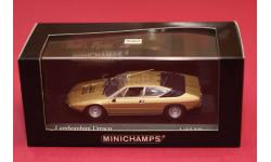 Lamborghini Urraco, редкая масштабная модель, Minichamps, 1:43, 1/43