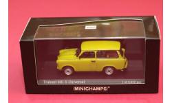Tranbant 601S Universal, редкая масштабная модель, Trabant, Minichamps, scale43