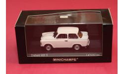 Tranbant 601S, редкая масштабная модель, Trabant, Minichamps, scale43