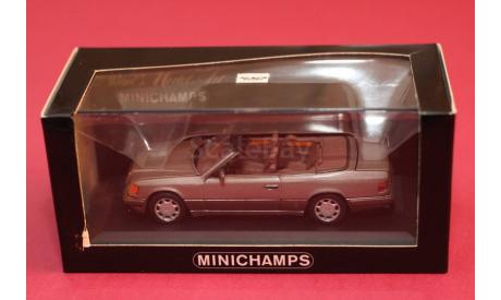 Mercedes Benz E class, редкая масштабная модель, Mercedes-Benz, Minichamps, 1:43, 1/43