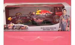 Red Bull #2 Renault RB8, масштабная модель, Minichamps, 1:18, 1/18