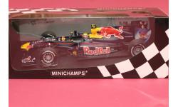 Red Bull #6 Renault RB6, масштабная модель, Minichamps, 1:18, 1/18