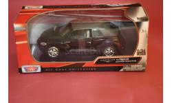 Chrysler PT Cruiser closed Convertible, масштабная модель, Motor Max, 1:24, 1/24