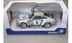 PORSCHE  911 CARRERA RSR MARTINI RACING #8 COUPE, масштабная модель, Solido, scale18