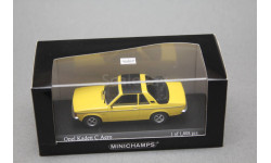Opel Kadett C aero, масштабная модель, Minichamps, scale43