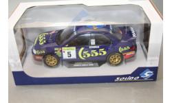 SUBARU IMPREZA 555 #5 WINNER RALLY MONTECARLO 1995, масштабная модель, Solido, scale18