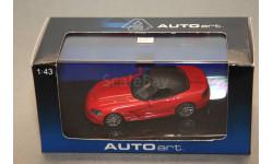 Dodge Viper SRT-10, масштабная модель, Autoart, 1:43, 1/43