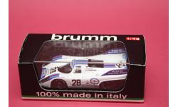 PORSCHE 917K MARTINI RACING TEAM #28, масштабная модель, Brumm, 1:43, 1/43