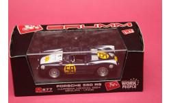 PORSCHE 550RS #58, масштабная модель, Brumm, 1:43, 1/43