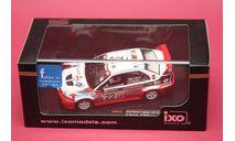 MITSUBISHI LANCER EVO VI #22   9th RALLY CHINA 1999, масштабная модель, IXO Rally (серии RAC, RAM), 1:43, 1/43
