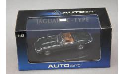 Jaguar E-type roadster, масштабная модель, Autoart, 1:43, 1/43