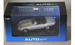 Jaguar E type Roadster, редкая масштабная модель, Autoart, 1:43, 1/43