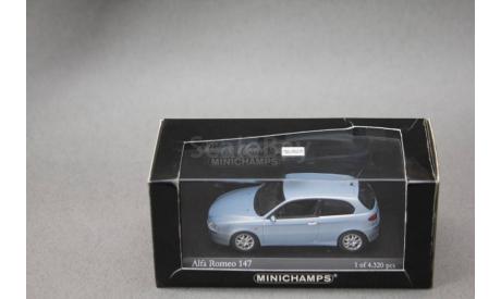 Alfa Romeo 147, масштабная модель, Minichamps, 1:43, 1/43