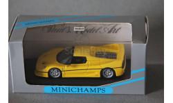 Ferrari F50, редкая масштабная модель, Minichamps, 1:43, 1/43