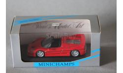 Ferrari F50 Spider, редкая масштабная модель, Minichamps, 1:43, 1/43