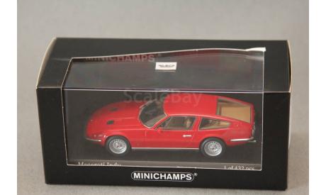 Maserati Indy, редкая масштабная модель, Minichamps, 1:43, 1/43