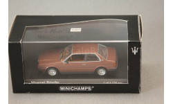Maserati Biturbo, редкая масштабная модель, Minichamps, 1:43, 1/43