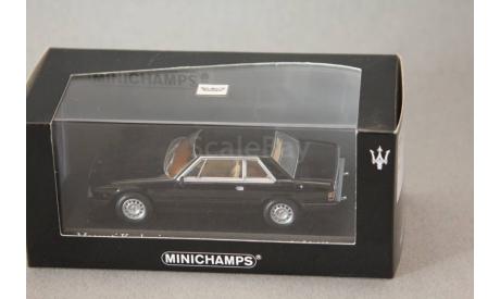 Maserati Kyalami, редкая масштабная модель, Minichamps, 1:43, 1/43
