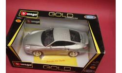 Porsche 911 turbo, масштабная модель, Bburago, 1:18, 1/18