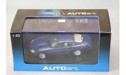 Jaguar XK8 coupe, масштабная модель, Autoart, 1:43, 1/43