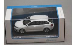 Skoda Rapid Spaceback, масштабная модель, Škoda, Abrex, 1:43, 1/43