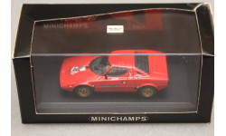 Lancia Stratos, редкая масштабная модель, Minichamps, scale43