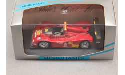 Ferrari 333 SP #60 IMSA - WSC 1994, редкая масштабная модель, Minichamps, 1:43, 1/43