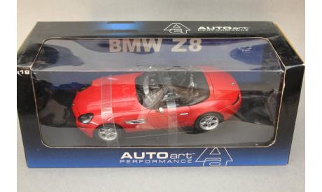 BMW Z8, масштабная модель, Autoart, 1:18, 1/18