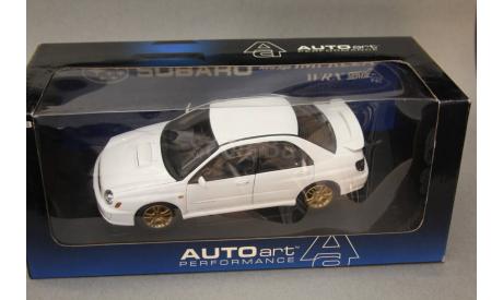 Subaru Impreza, масштабная модель, Autoart, 1:18, 1/18