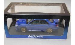 SUBARU IMPREZA  New Age WRC Plain body version, редкая масштабная модель, Autoart, 1:18, 1/18