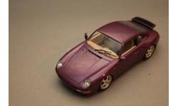 porsche 911 turbo, масштабная модель, Bburago, scale18