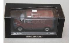 Opel Vivaro Delivery van, масштабная модель, Minichamps, scale43