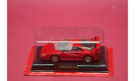 Ferrari F40, масштабная модель, Altaya, 1:43, 1/43