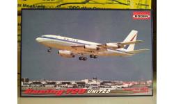 1:144 Авиалайнер Boeing 720 United RODEN 320