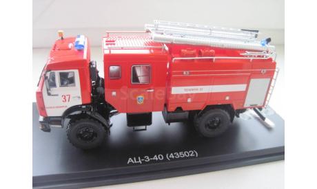 КАМАЗ АЦ-3-40 (43502), масштабная модель, 1:43, 1/43, Start Scale Models (SSM)