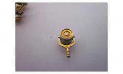 капотный фонарь РуссоБалт Торпедо, хром темно-желтый, новый