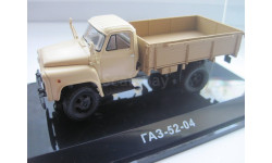 ГАЗ-52-04 Бортовой (Бежевый) 1983 СССР Dip № 105201, из коллекции., масштабная модель, Start Scale Models (SSM), 1:43, 1/43