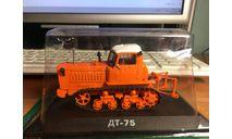 Тракторы: история, люди, машины №12 - ДТ-75, масштабная модель трактора, Тракторы. История, люди, машины. (Hachette collections), scale43
