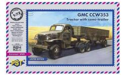 GMC CCW353. Тягач с полуприцепом 1/72