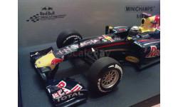 1:18 F1 Red Bull Renault RB6 S. Vettel - чемпион мира 2010