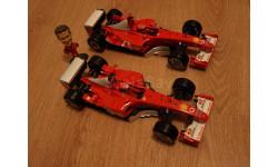 1:18 F2002 F2003-GA чемпионские Ferrari F1 Шумахер, с фигурой пилота