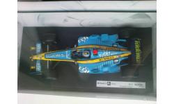 1:18 F1 Renault R25 Fernando Alonso - чемпион мира 2005