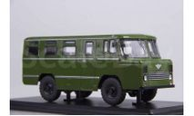 Армейский автобус АС-38, хаки, масштабная модель, Start Scale Models (SSM), scale43